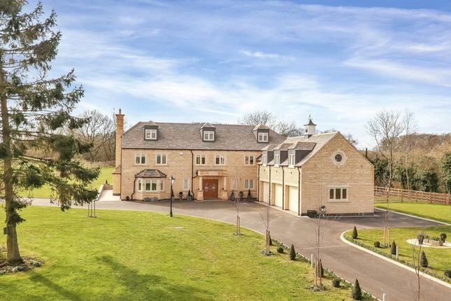 Thumbnail Detached house for sale in Oakham Road, Tilton On The Hill, Leicester