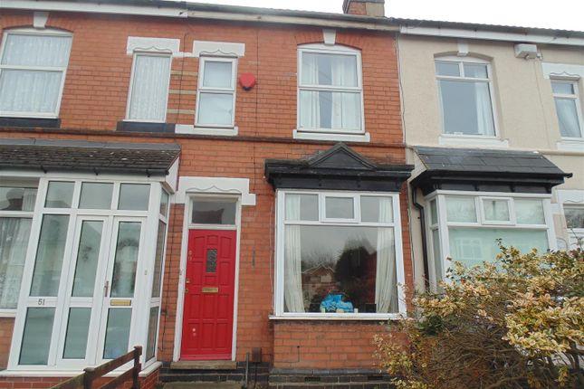 Thumbnail Terraced house for sale in Fern Road, Erdington, Birmingham