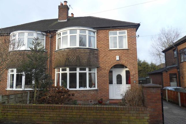 Thumbnail Semi-detached house to rent in Millford Avenue, Flixton, Urmston, Manchester