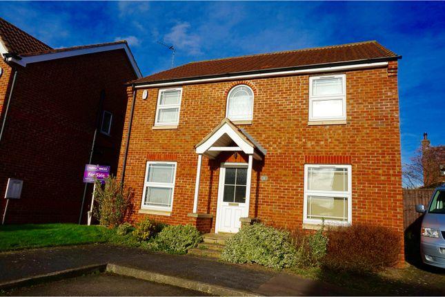 Thumbnail Detached house for sale in Cordeaux Close, Gainsborough