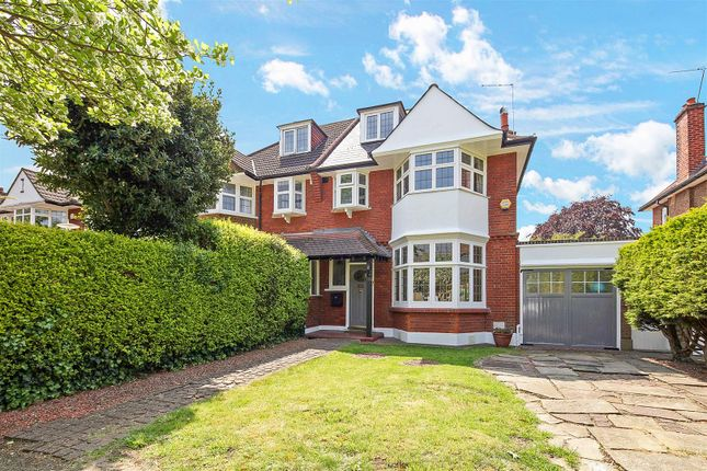 Thumbnail Semi-detached house for sale in Coombe Lane, West Wimbledon