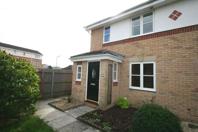 Thumbnail Semi-detached house to rent in Launceston Close, Priddy's Hard