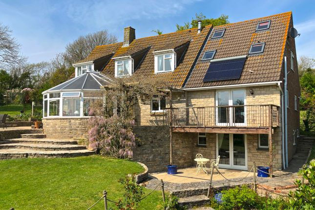 Thumbnail Detached house for sale in Woolgarston, Corfe Castle, Wareham