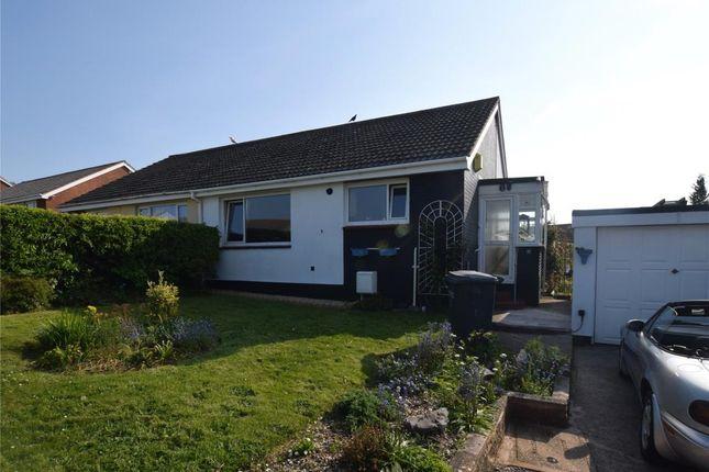 Thumbnail Semi-detached bungalow for sale in Waterleat Close, Paignton, Devon