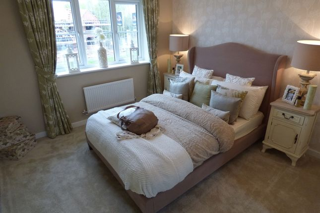 "Thumbnail Detached house for sale in ""The Beech"" at Riber Drive, Chellaston, Derby"