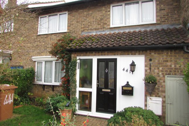 Thumbnail Terraced house for sale in Broadwater Crescent, Stevenage