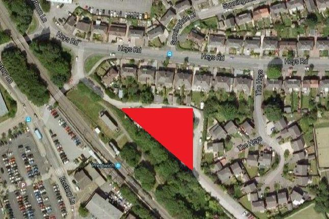 Thumbnail Land for sale in Land Off Heys Road, Prestwich, Bury - Under Offer