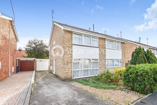 Thumbnail Semi-detached house to rent in Waverley Lane, Burton-On-Trent
