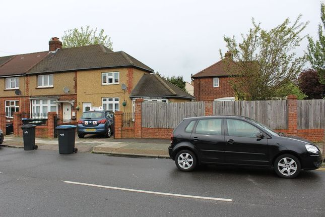 Thumbnail End terrace house for sale in Savernake Road, London