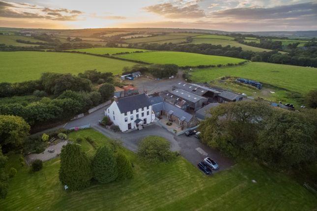 Thumbnail Farmhouse for sale in Portfield Gate, Haverfordwest