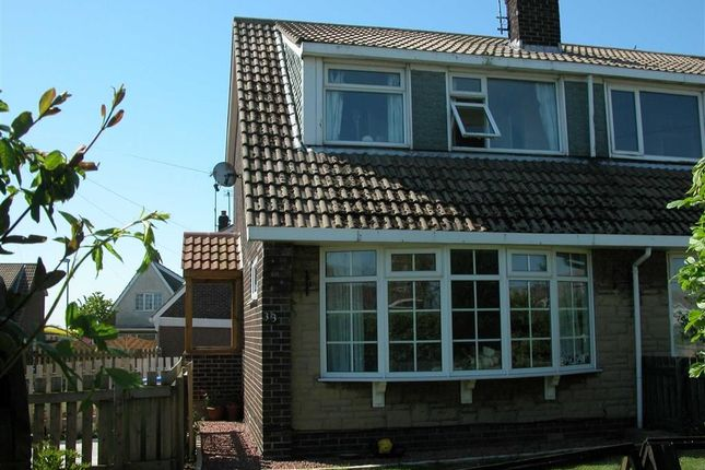 Thumbnail Semi-detached house for sale in Chapel Garth, Skipsea, East Yorkshire