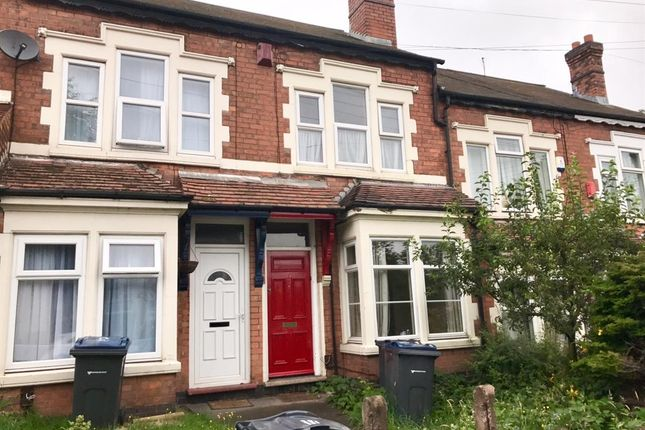Thumbnail Terraced house to rent in Rosary Road, Erdington, Birmingham