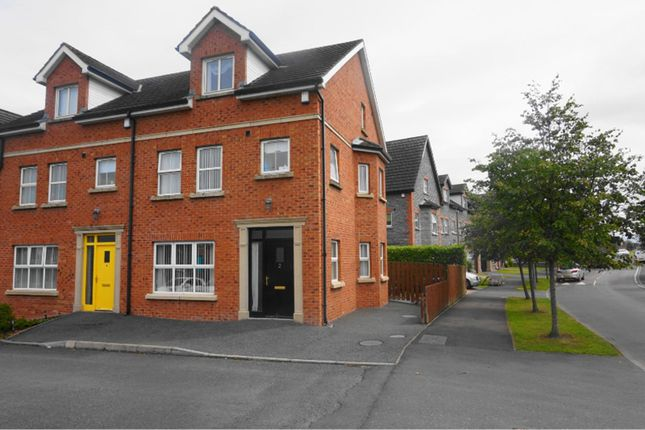 Thumbnail End terrace house for sale in Highfield Drive, Omagh