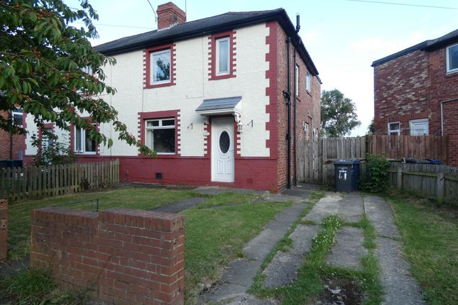 Thumbnail Semi-detached house to rent in Lumley Terrace, Jarrow