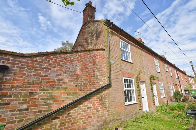 Thumbnail 1 bed end terrace house to rent in The Street, Swanton Novers, Melton Constable