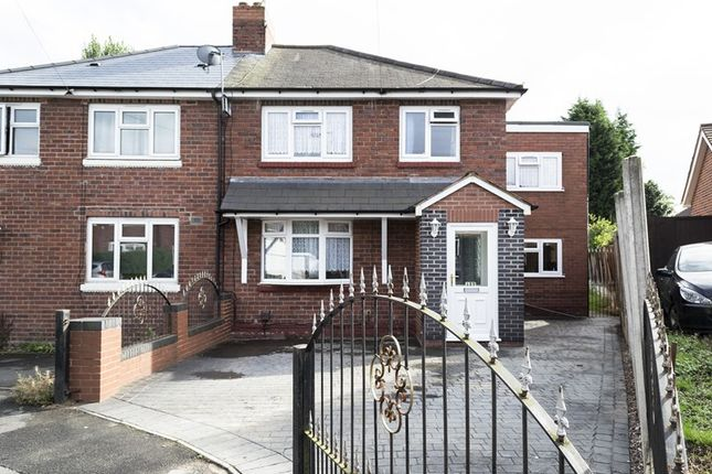 Thumbnail Semi-detached house for sale in Harrold Road, Rowley Regis