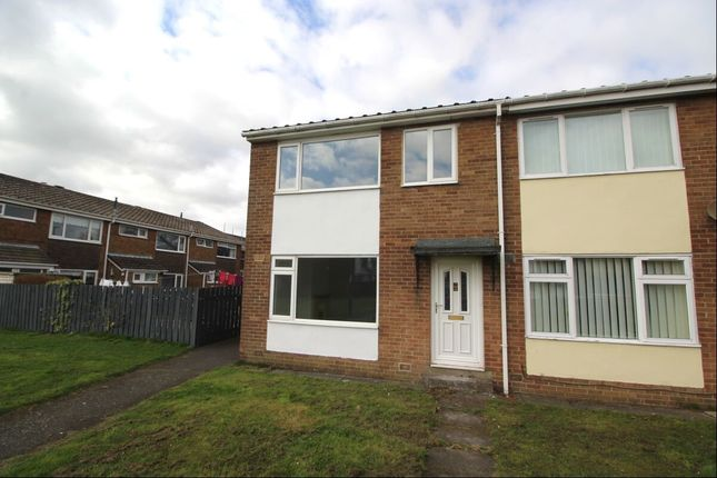 Thumbnail 3 bed terraced house to rent in Sidney Close, Stanley