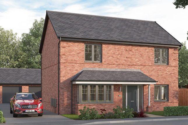 "Thumbnail Detached house for sale in ""The Amersham"" at Corner Farm, Luke Lane, Brailsford, Ashbourne"
