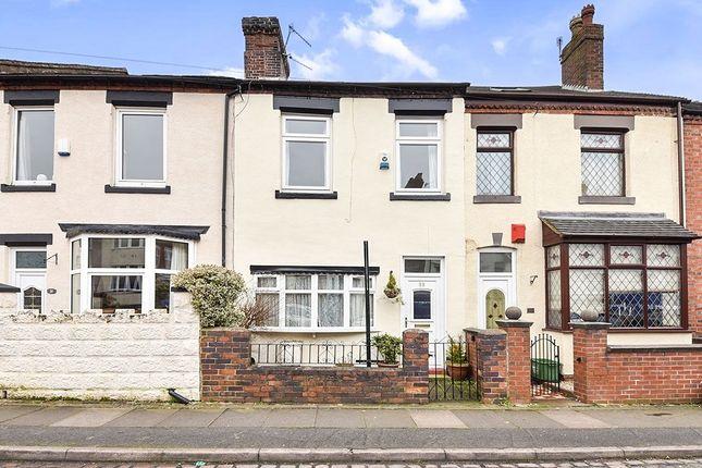 Thumbnail Terraced house to rent in Sackville Street, Stoke-On-Trent
