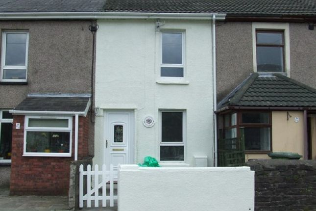 Thumbnail Terraced house to rent in Station Road, Risca, Newport.