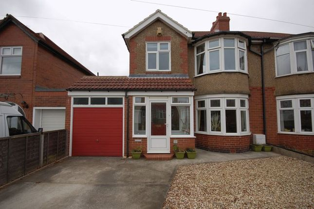 Thumbnail Semi-detached house for sale in Elmcroft Road, Forest Hall, Newcastle Upon Tyne