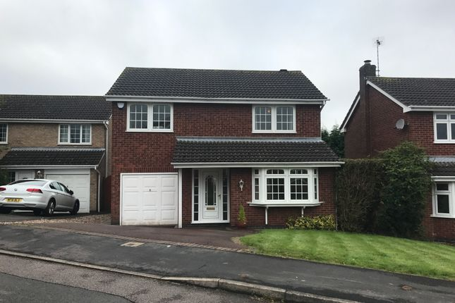 Thumbnail Detached house to rent in Somerset Drive, Glenfield
