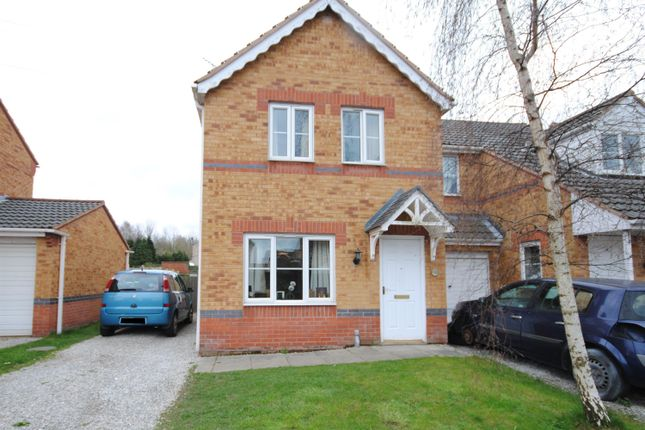 Thumbnail Semi-detached house for sale in Curbar Close, North Wingfield, Chesterfield