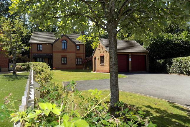 Thumbnail Detached house for sale in Lark Rise, Brackla, Bridgend .