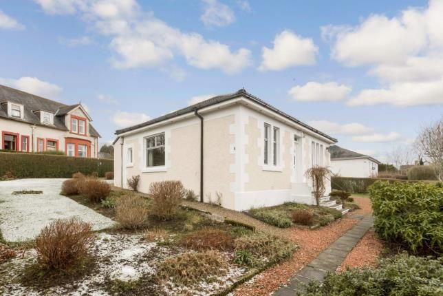 Thumbnail Bungalow for sale in Russell Drive, Dalry, North Ayrshire