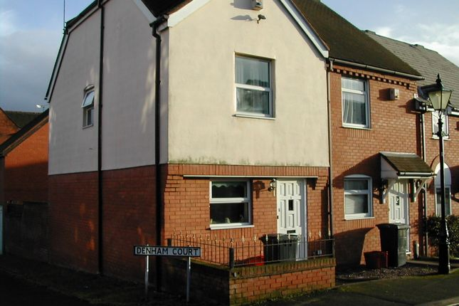 2 bed end terrace house to rent in Denham Court, Atherstone