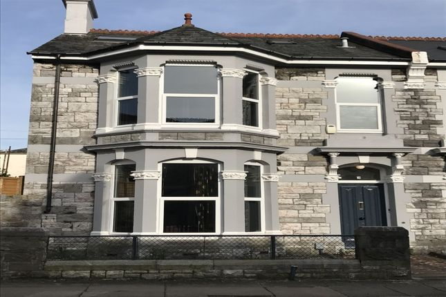 Thumbnail Terraced house to rent in Evelyn Place, Plymouth