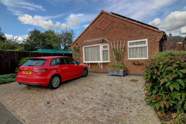 Thumbnail Bungalow for sale in Langdale, Fleckney, Leicester