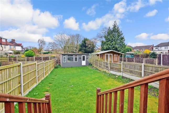 Rear Garden of Great Gardens Road, Hornchurch, Essex RM11