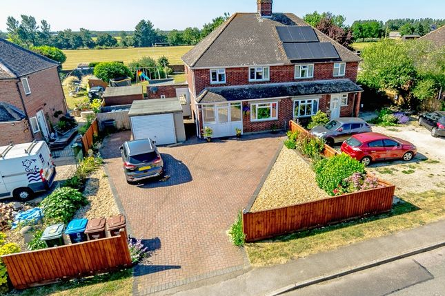 Thumbnail Semi-detached house for sale in Otmoor View, Merton, Bicester