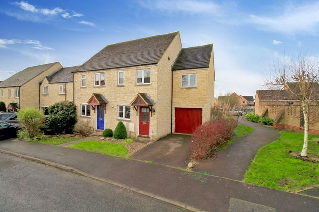Thumbnail Semi-detached house to rent in Eton Close, Witney, Oxfordshire