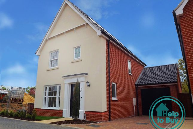 Thumbnail Property for sale in Plot 33, The Strumpshaw, Springfield Grange, Acle