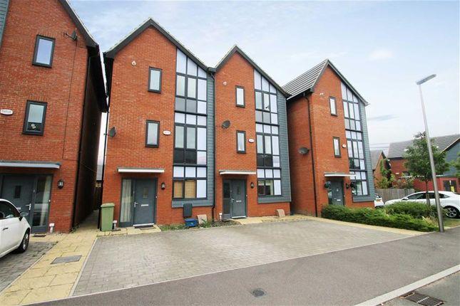 Thumbnail Town house to rent in Norden Mead, Walton, Milton Keynes