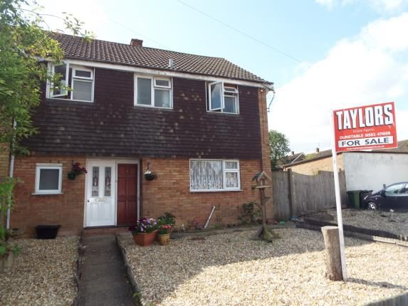 Thumbnail Semi-detached house for sale in Oatfield Close, Luton, Bedfordshire, England