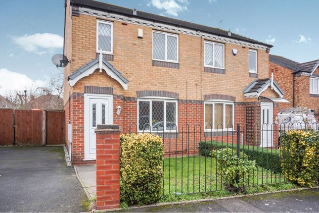 Thumbnail Semi-detached house for sale in Cranwell Grove, Birmingham