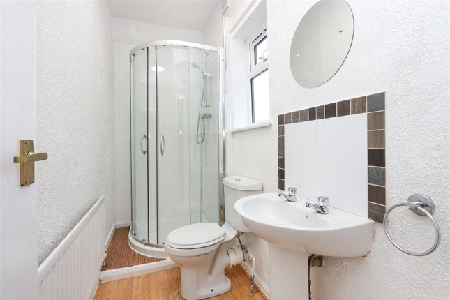 Shower Room of Hipper Street West, Brampton, Chesterfield S40