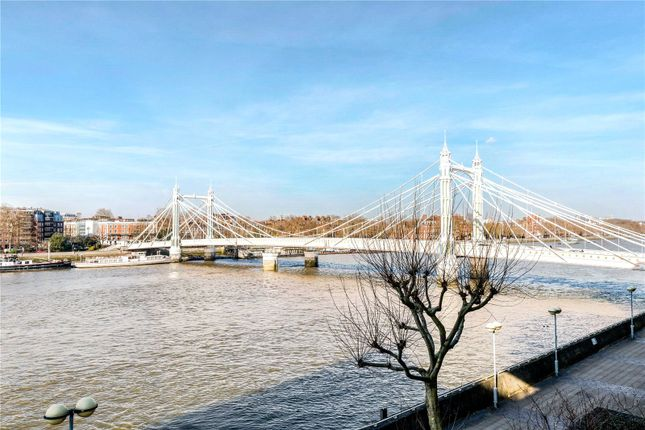 Thumbnail Flat for sale in Waterside Point, 2 Anhalt Road, London