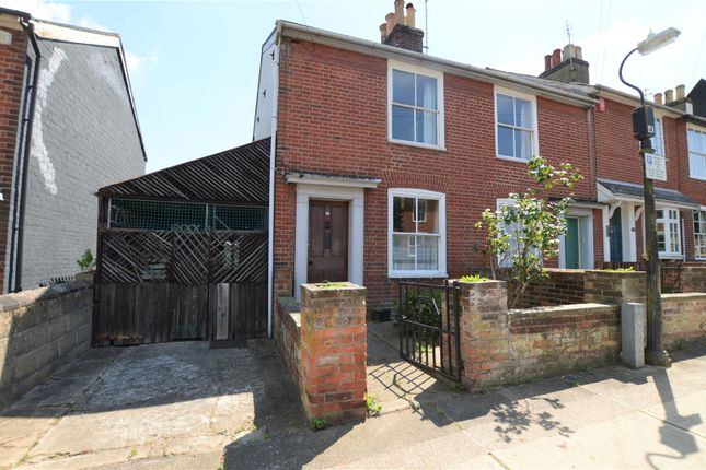 Thumbnail End terrace house for sale in Castle Road, Colchester