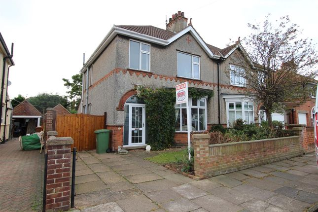 Thumbnail Semi-detached house for sale in 43 Signhills Avenue, Cleethorpes