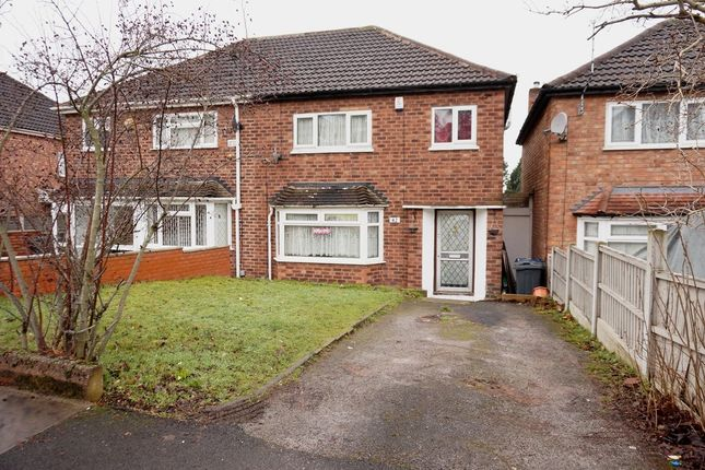 Thumbnail Semi-detached house to rent in Camplin Crescent, Birmingham