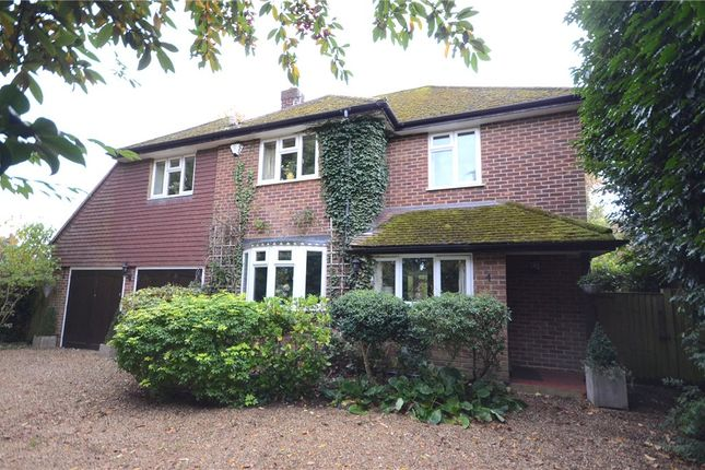 Thumbnail Detached house for sale in Chestnut Avenue, Wokingham, Berkshire