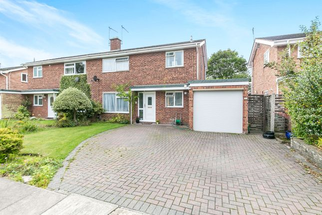 Thumbnail Semi-detached house for sale in North Lawn, Ipswich