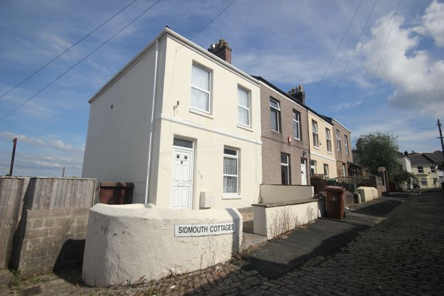 Thumbnail End terrace house to rent in Sidmouth Cottages, Mutley Plain, Plymouth