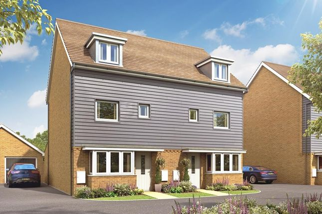 "Thumbnail Semi-detached house for sale in ""Woodvale"" at Park Prewett Road, Basingstoke"