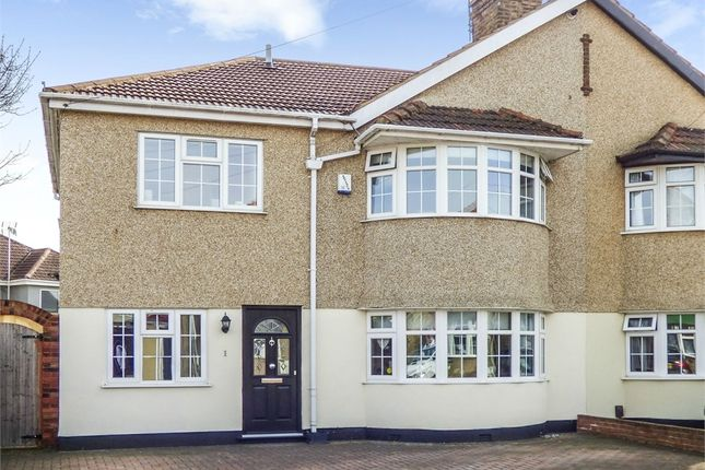 Thumbnail Semi-detached house for sale in Plymstock Road, Welling, Kent