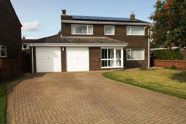 Thumbnail Detached house for sale in The Croft, Ulgham, Morpeth